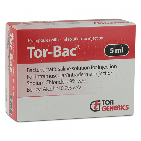 Buy Tor-bac 10x5ml Ampoules Online